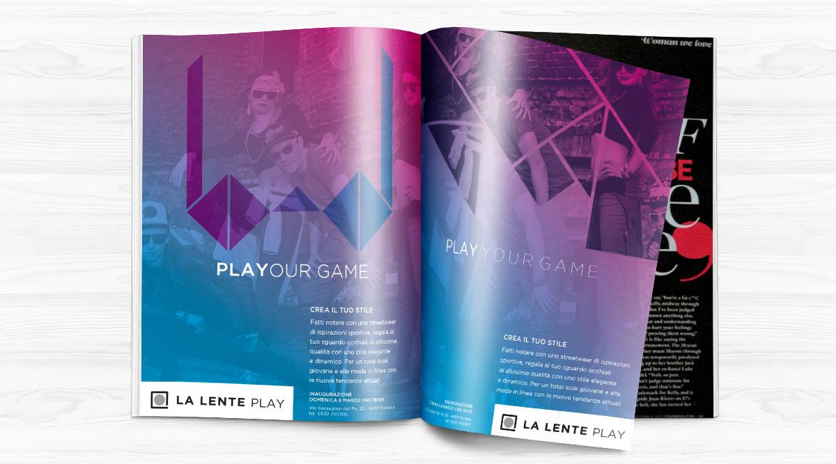 Advertising per La Lente