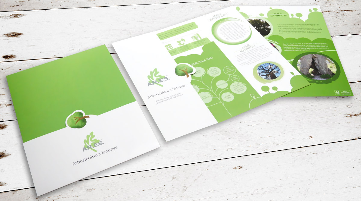 Brand Identity Ar.es - Agenzia Brand Identity Milano INSIDE Comunicazione