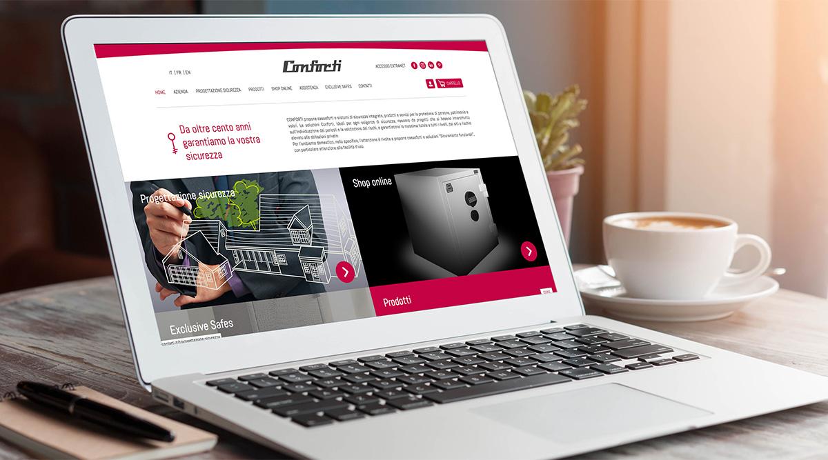 Conforti - Realizzazione e commerce - Web Agency INSIDE Comunicazione