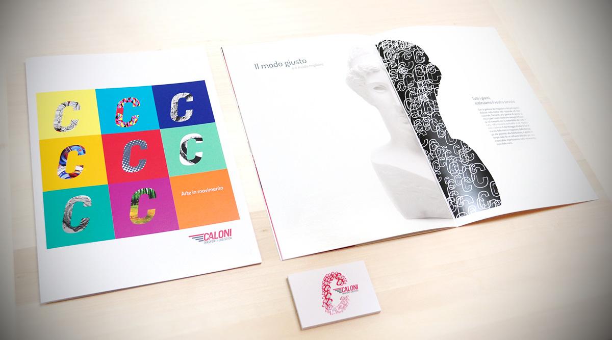Attività di Brand Identity Per Caloni - INSIDE Comunicazione Agenzia di Brand Identity Milano