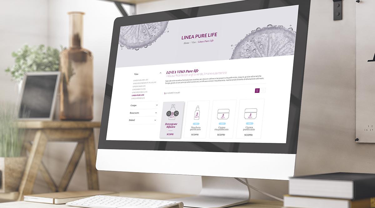Beauty Life - Realizzazione Siti Web - Web Agency INSIDE Comunicazione
