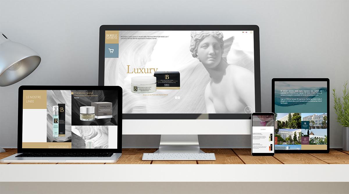 Borile - Realizzazione siti Web - Web Agency INSIDE Comunicazione