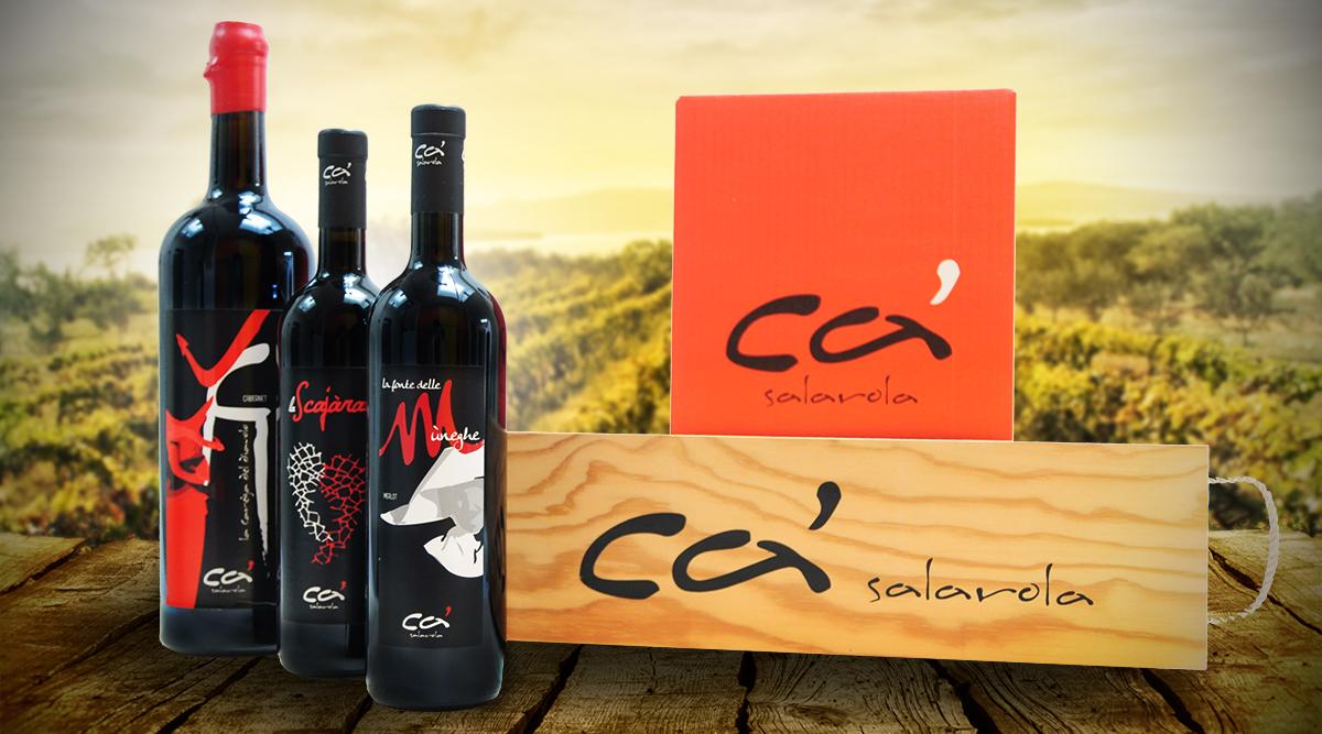 Packaging Cà Salarola - Packaging Design Agency INSIDE Comunicazione