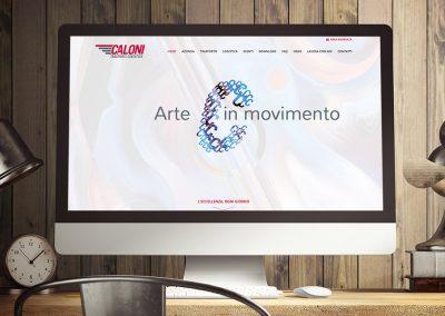 Caloni - Realizzazione Siti Web - Web Agency INSIDE Comunicazione