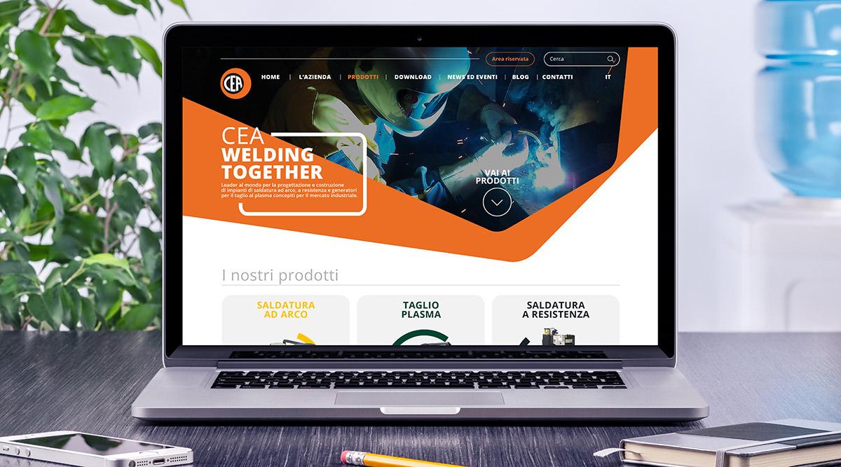 Cea - Realizzazione Siti Web - Web Agency INSIDE Comunicazione