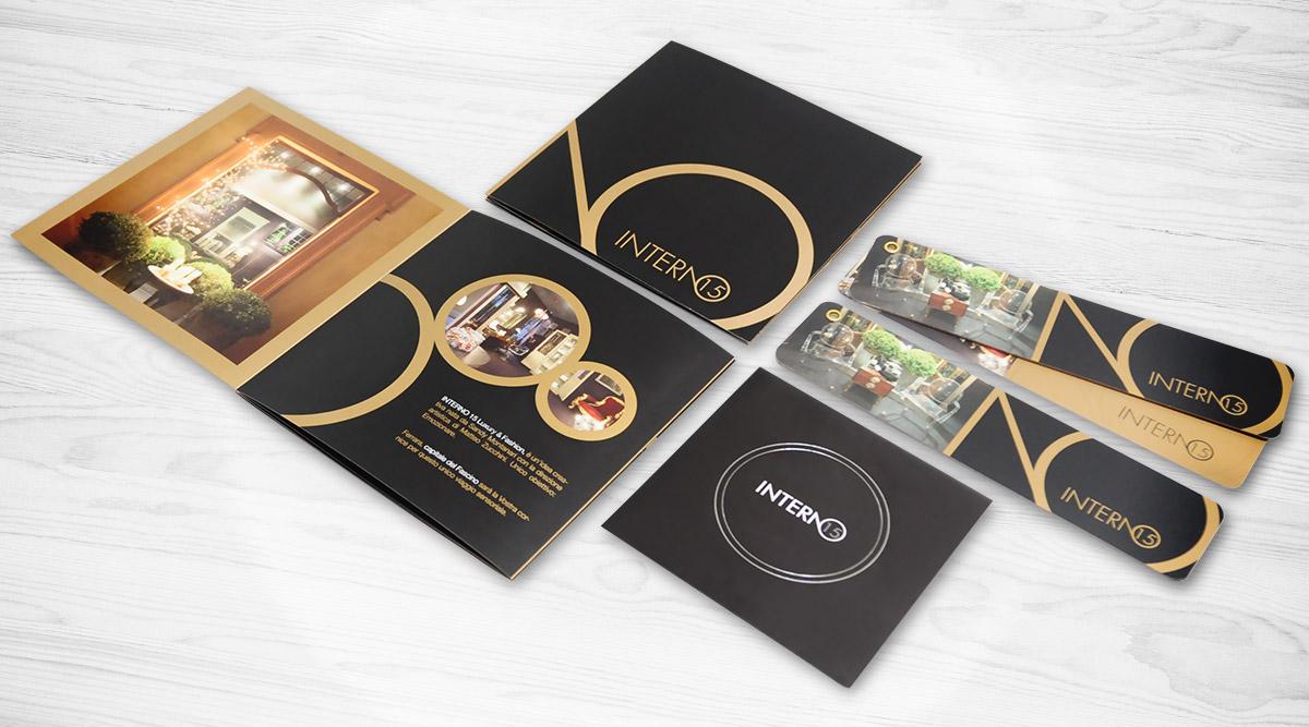 Brand Identity Interno15 - Agenzia Brand Identity Milano INSIDE Comunicazione