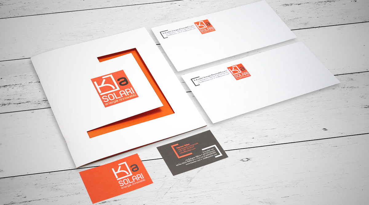 Brand Identity Ka solari - Agenzia Brand Identity Milano INSIDE Comunicazione