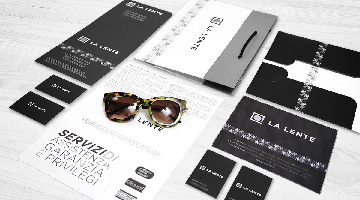 Brand Identity La Lente - Agenzia Brand Identity Milano INSIDE Comunicazione
