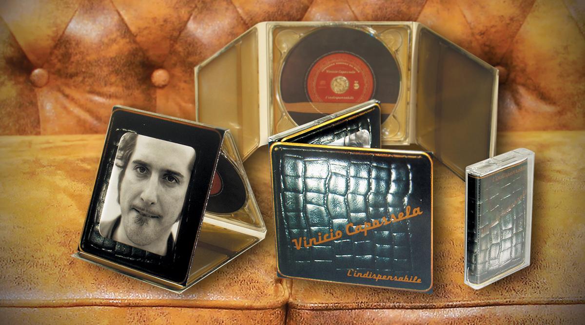 CD Vinicio Capossela - Packaging per Wavin - Packaging Design Agency INSIDE Comunicazione