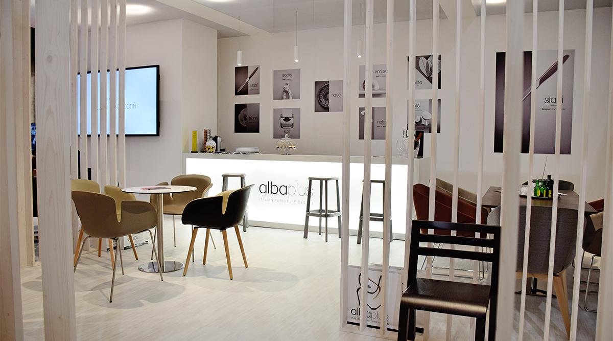 Allestimenti Fieristici Salone Del Mobile per Albaplus