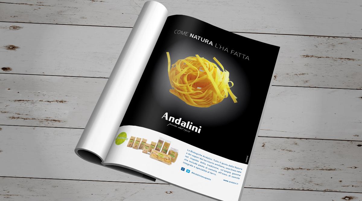 Advertising per Andalini