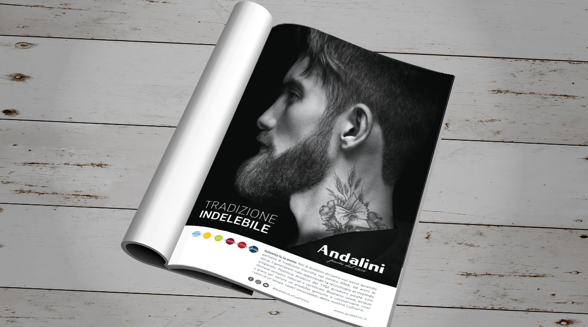 Advertising per Andalini - INSIDE Comunicazione