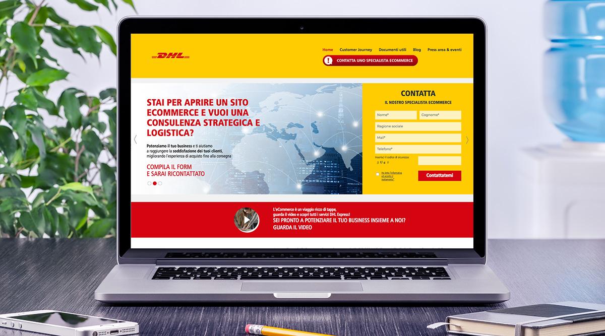 Realizzazione Sito Web per DHL