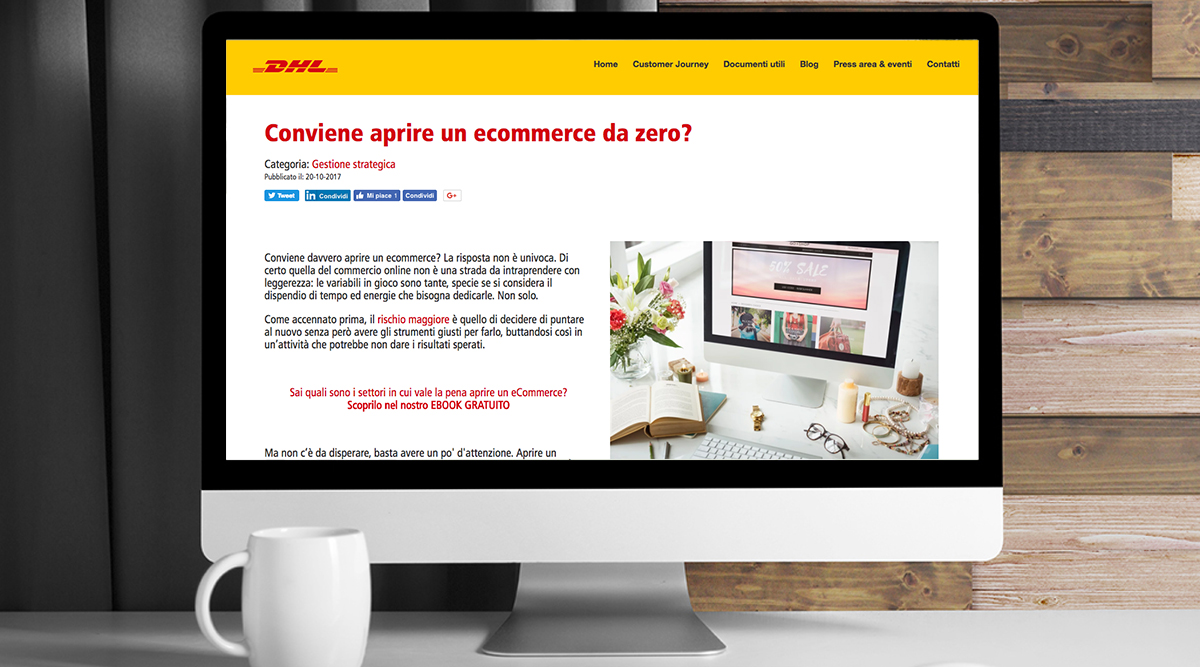 Inbound Marketing per DHL