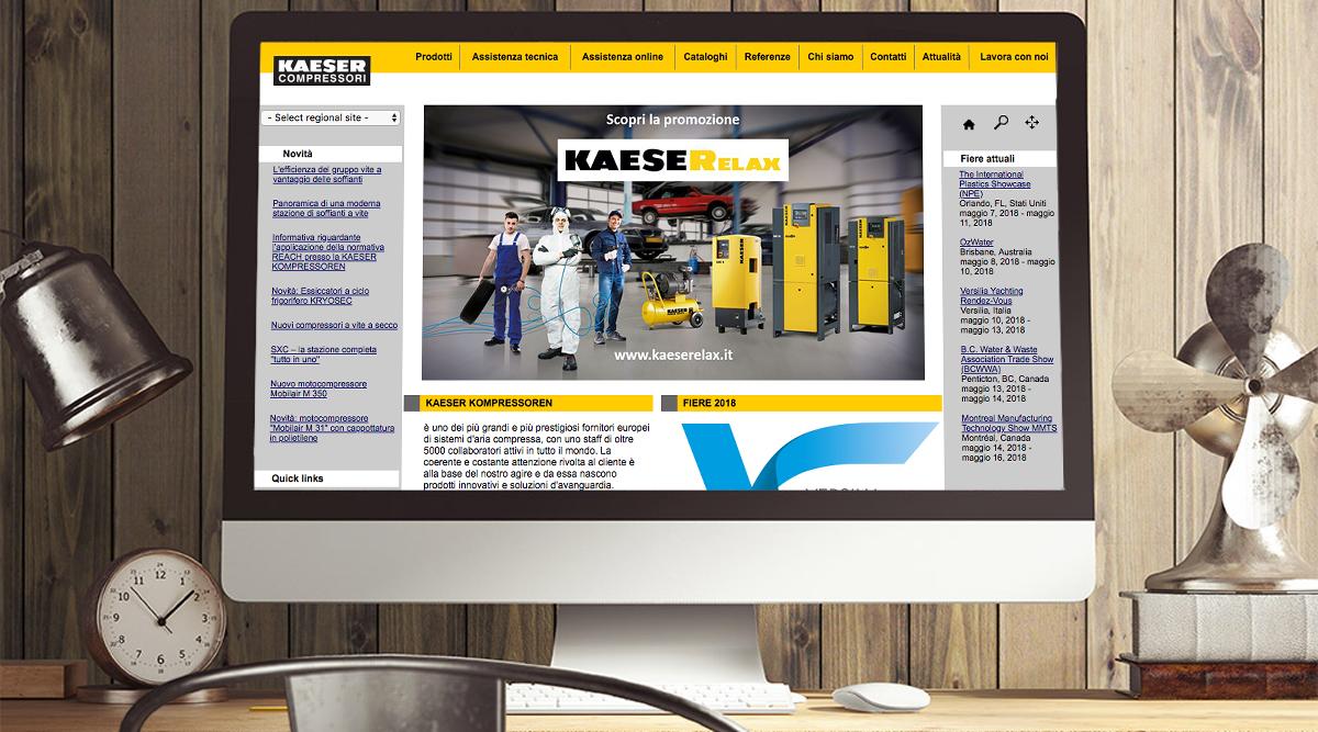 Inbound Marketing per Kaeser