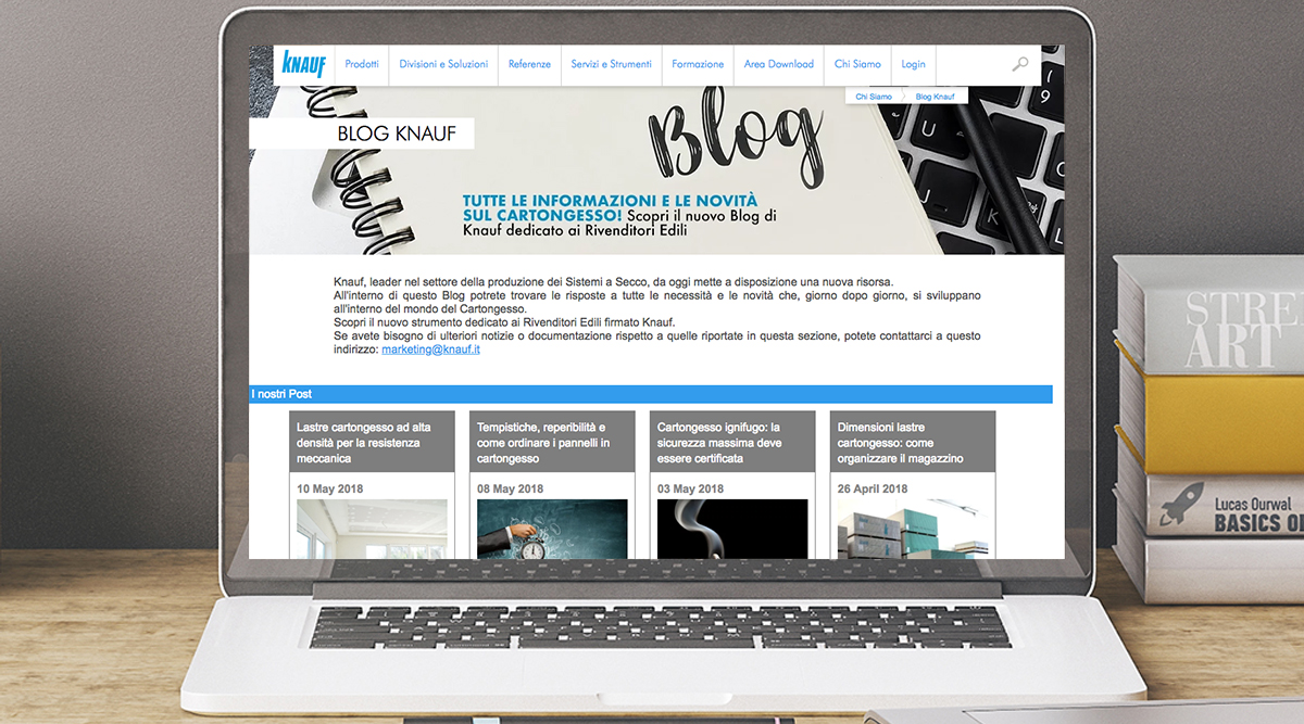 Inbound marketing per Knauf