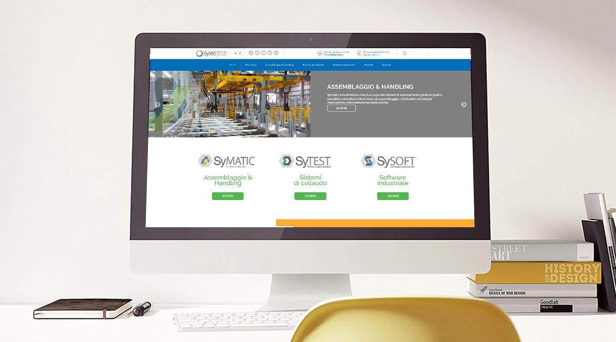 Realizzazione Sito Web Sytec Group