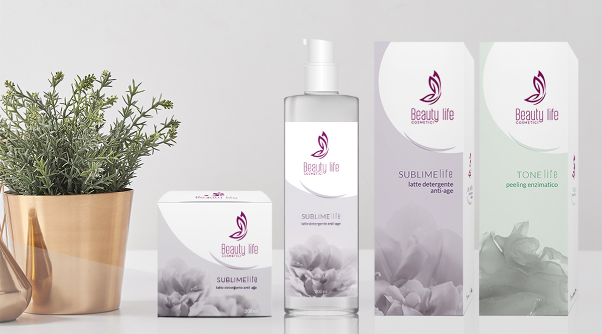 Packaging per Beauty Life - Packaging Design Agency INSIDE Comunicazione